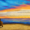 The Lovers Sunset Ketubah
