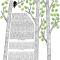 The Birch Tree Ketubah