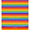 The Rainbow Stripes Ketubah